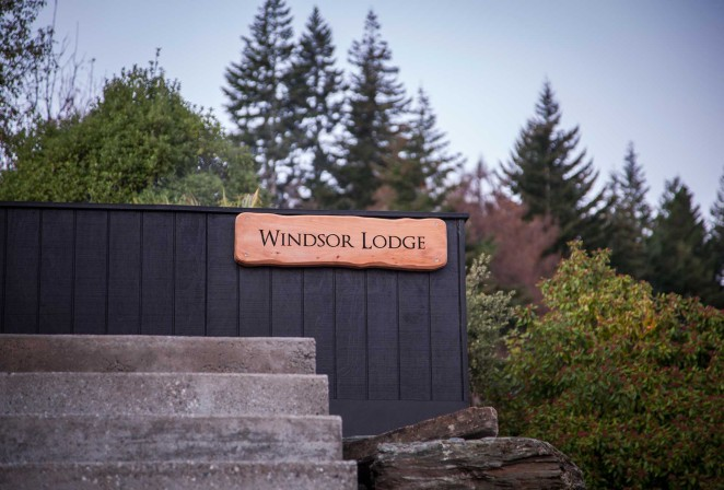 Windsor Lodge situated in a quiet leafy street