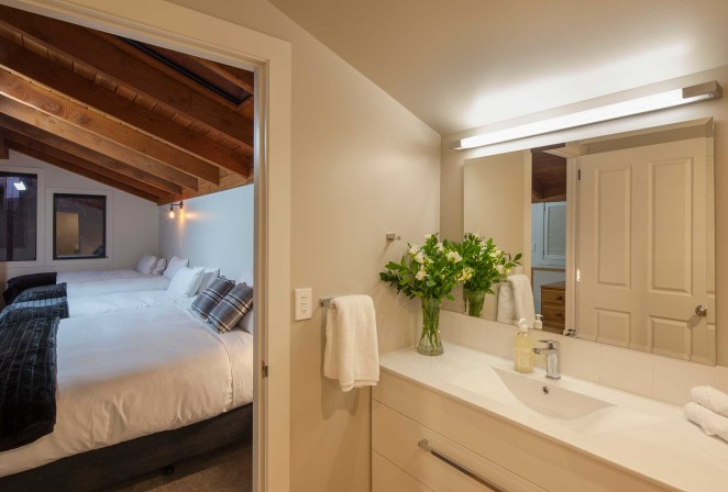 Loft ensuite with extra large shower